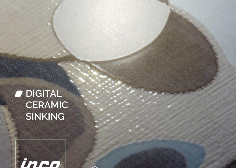 Inchiostro ceramico affondante per effetti realistici sulle piastrelle